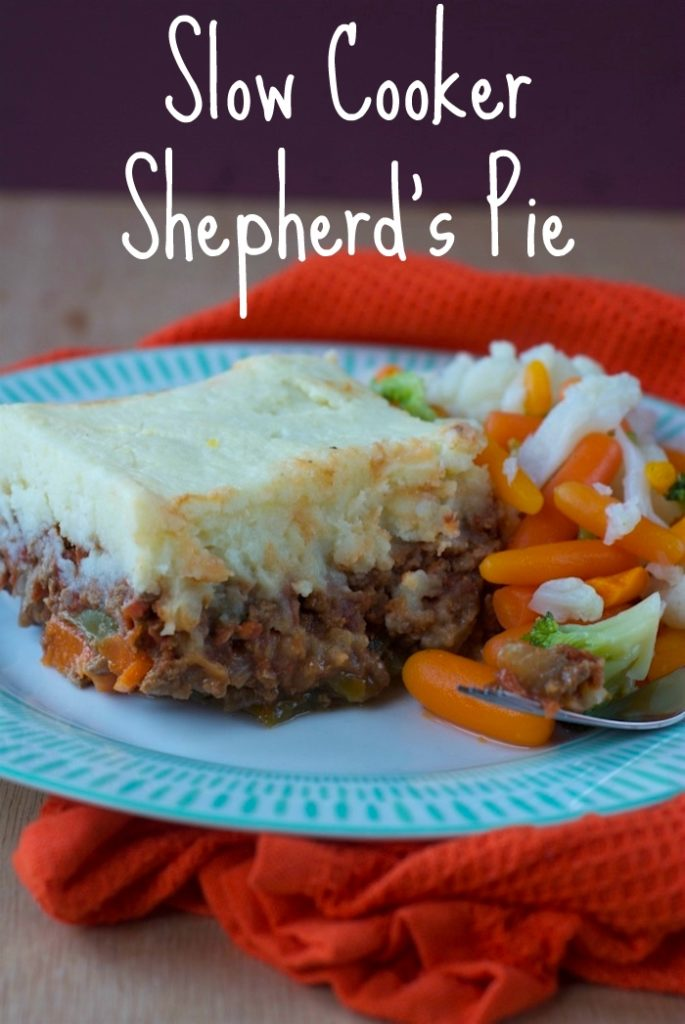 Slow Cooker Shepherd's Pie title