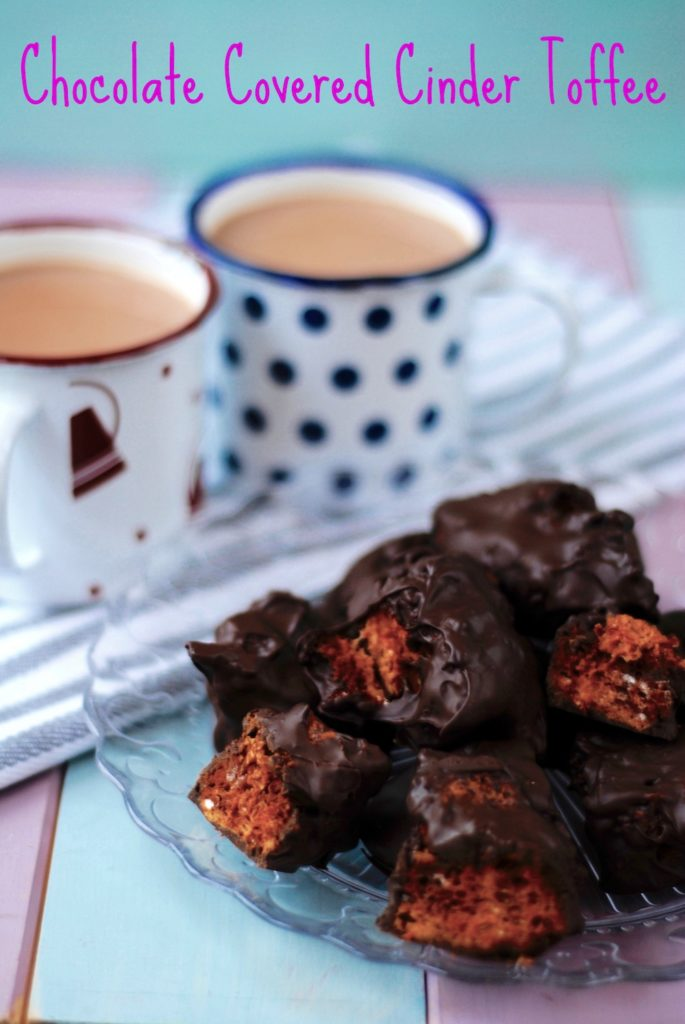 Chocolate Covered Cinder Toffee title