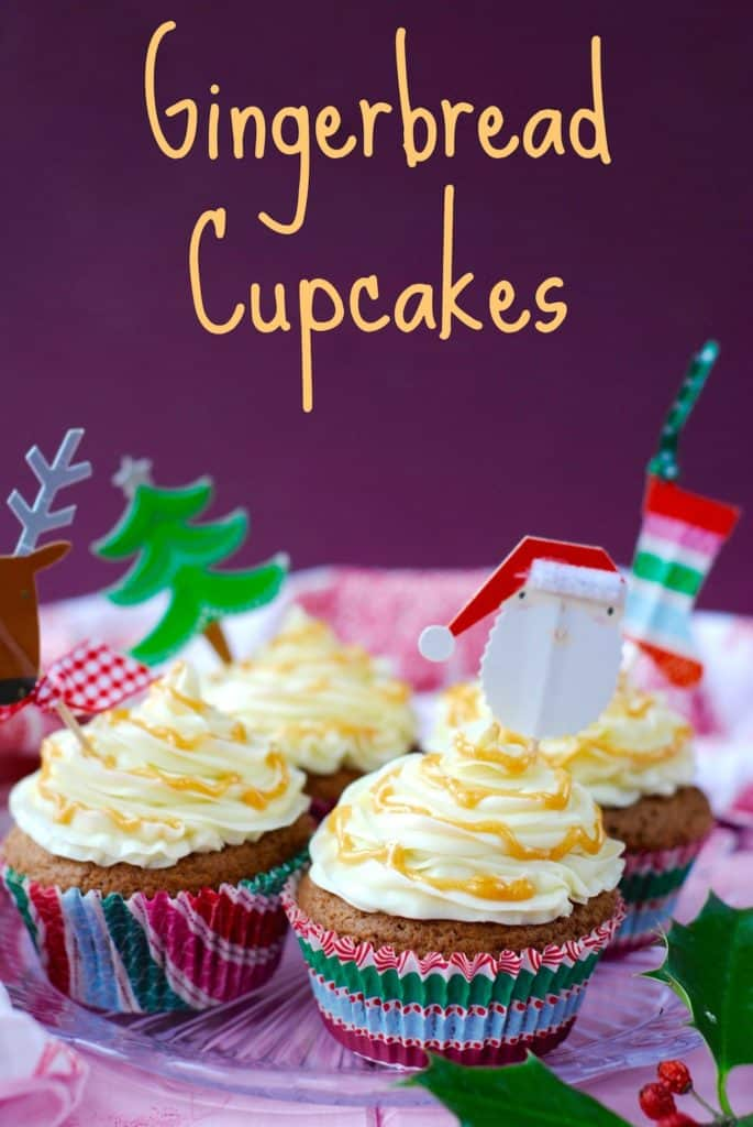 Gingerbread Cupcakes title