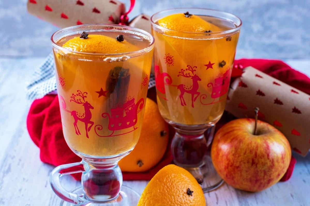 Mulled Apple Juice - Hungry Healthy Happy
