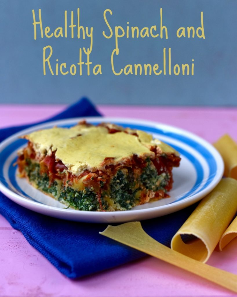Spinach and Ricotta Cannelloni title