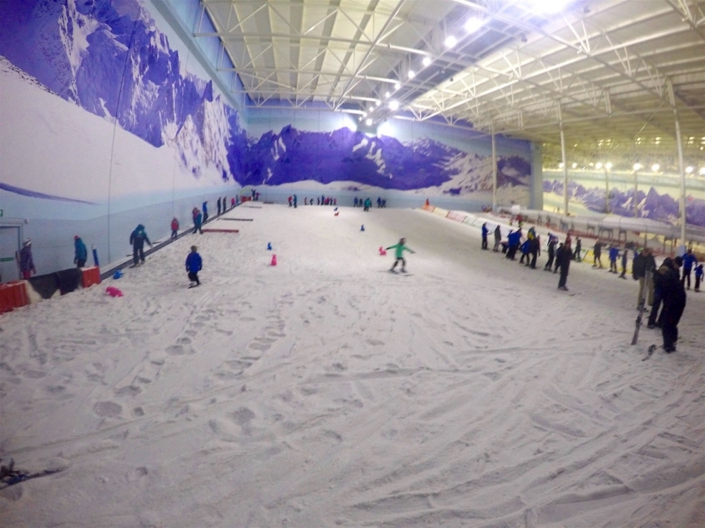 Chill Factore nursery slope