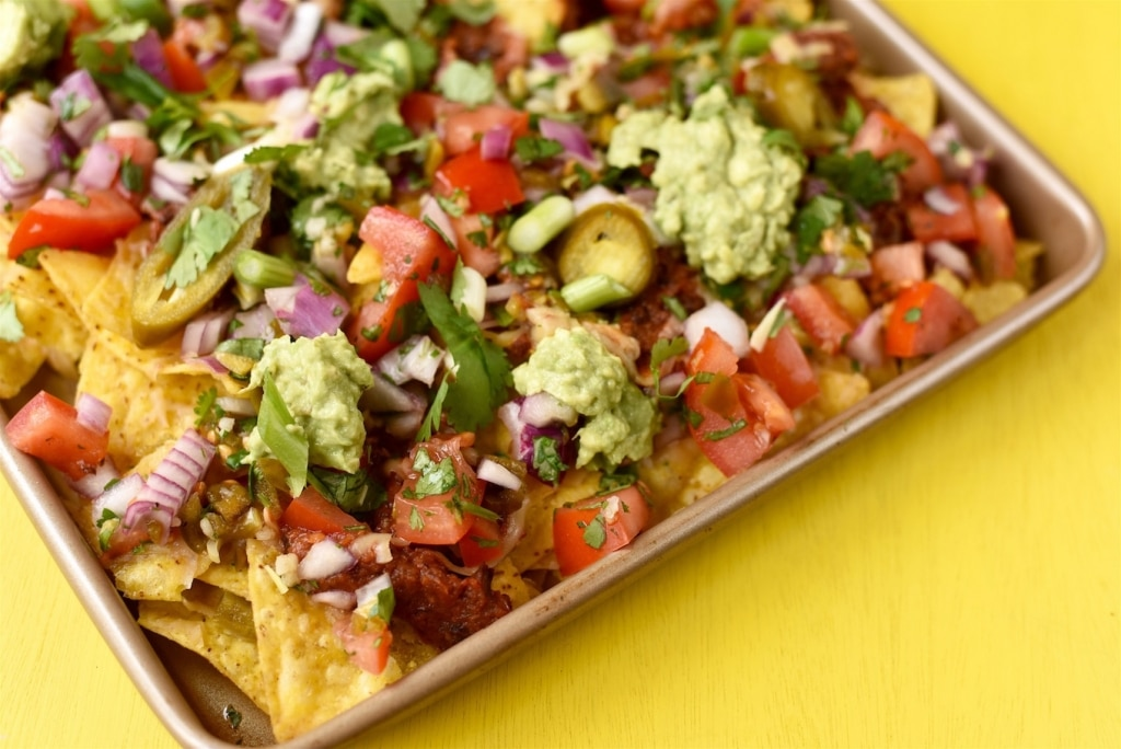 Chipotle Black Bean Nachos