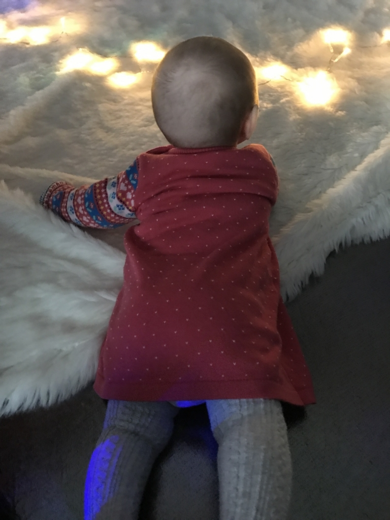 Avery and lights