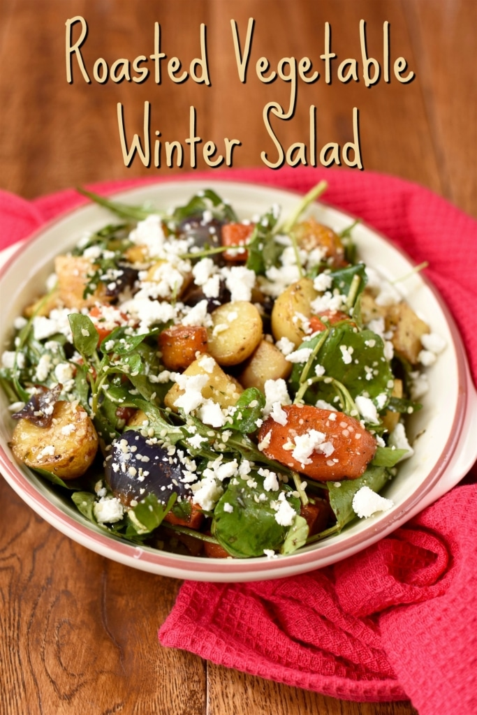 Roasted Vegetable Winter Salad title