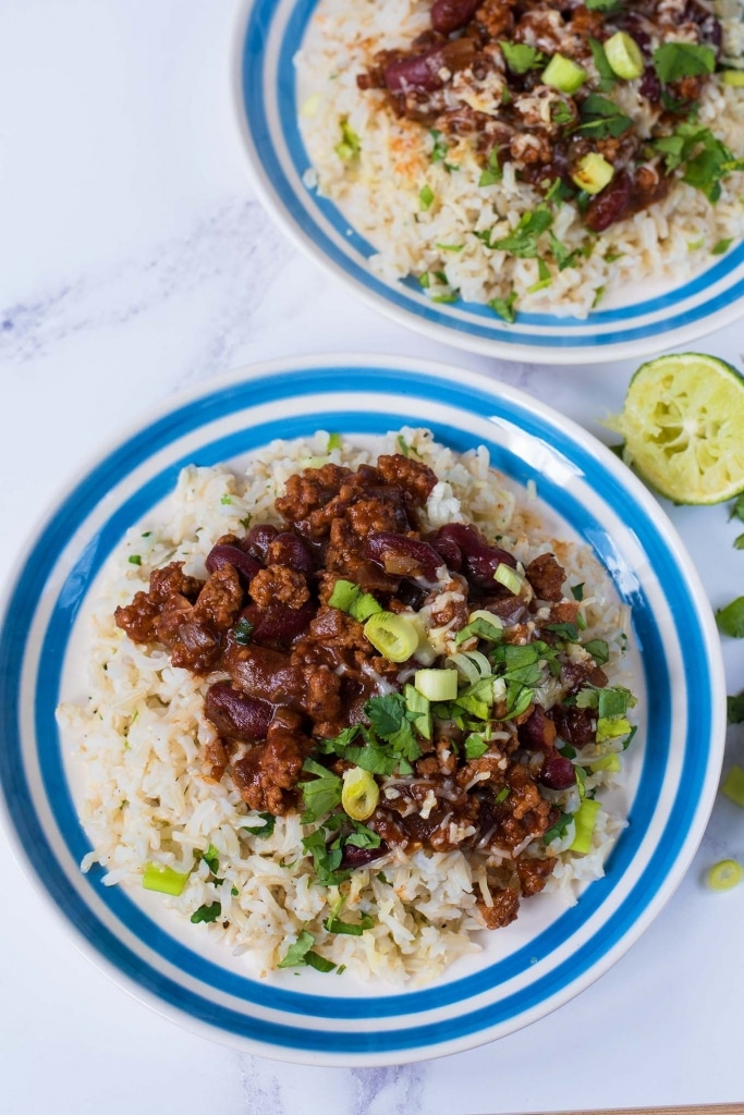 Chipotle Pork Chilli with Popped Beans