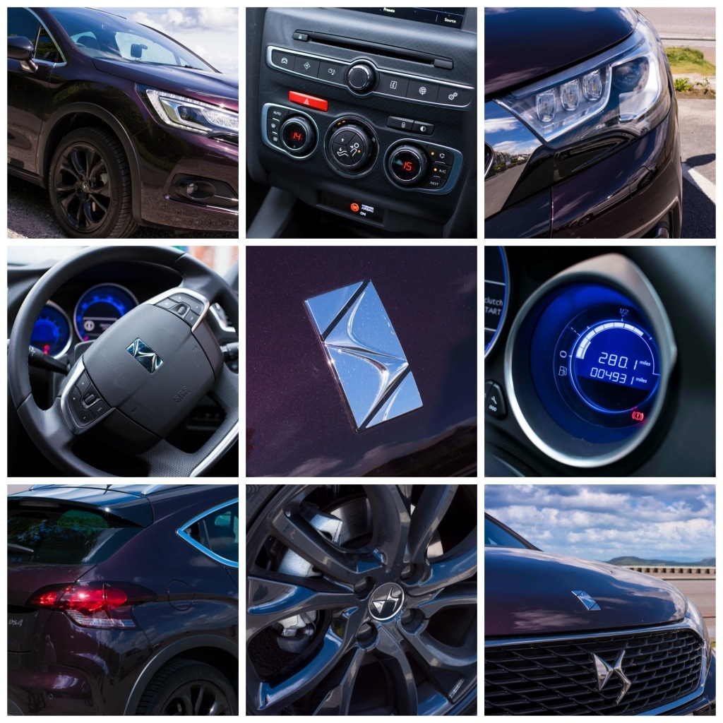 DS4 Crossback collage