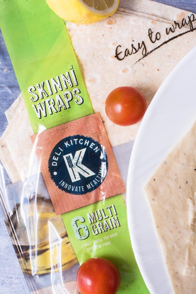 Greek Hummus Wrap