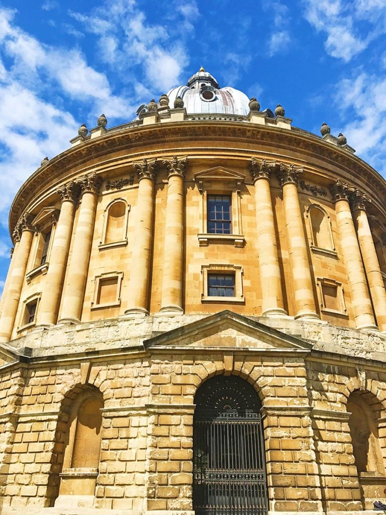 The Radcliffe Camera building in Oxford