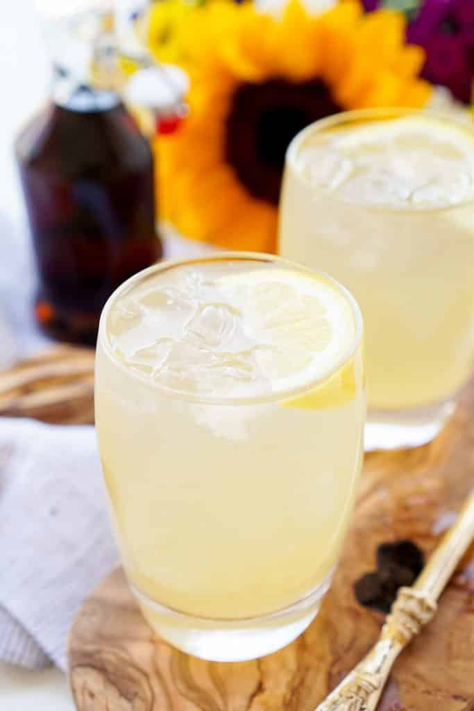maple lemonade