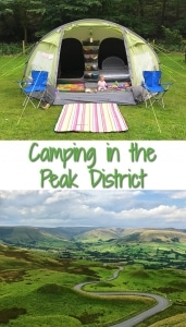 Camping in the Peak District