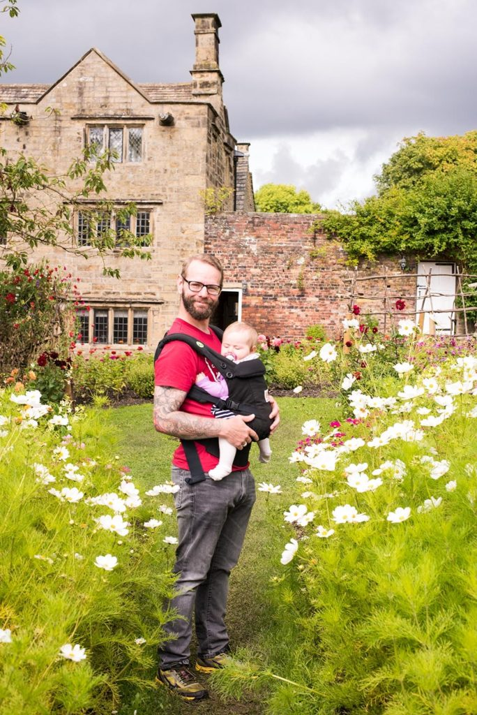 Dave and Avery at Eyam Hall