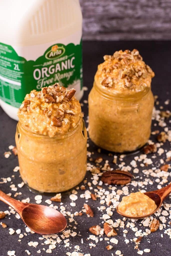Pumpkin Spiced Overnight Oats