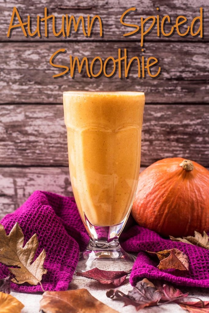 Autumn Spiced Smoothie title picture