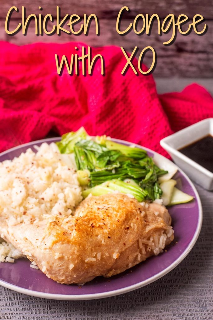 Chicken Congee with XO title picture