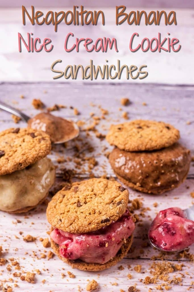 Nice Cream Cookie Sandwiches title picture