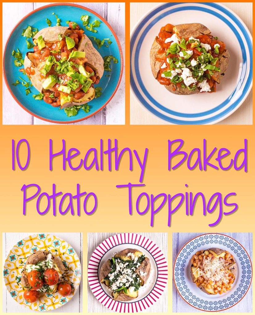 10 Healthy Ways To Cook With Potatoes: 10 Healthy Baked Potato Toppings