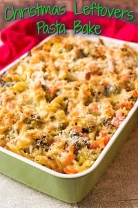 Christmas Leftovers Pasta Bake title pic