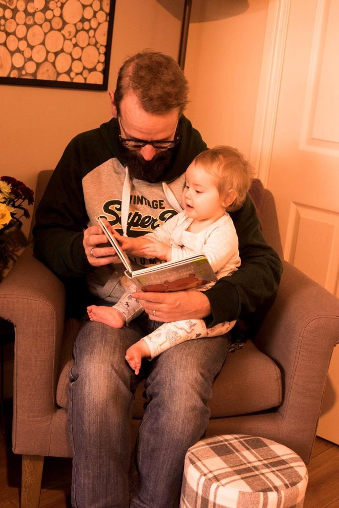 Cosy Reading Nook with Dave and Avery