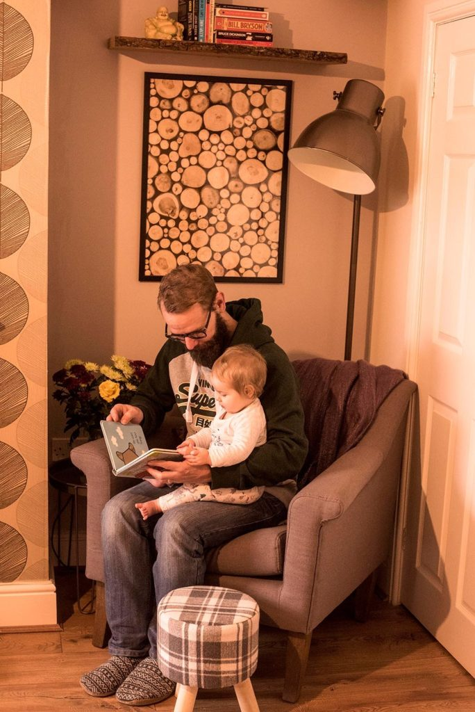 Cosy Reading Nook with Dave and Avery 4