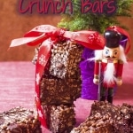Festive Chocolate Crunch Bars title pic