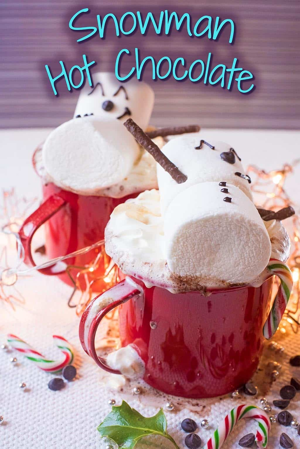 Christmas Snowman Hot Chocolate title picture