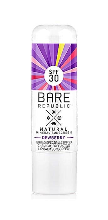 Bare Republic Lip Balm Sun Screen
