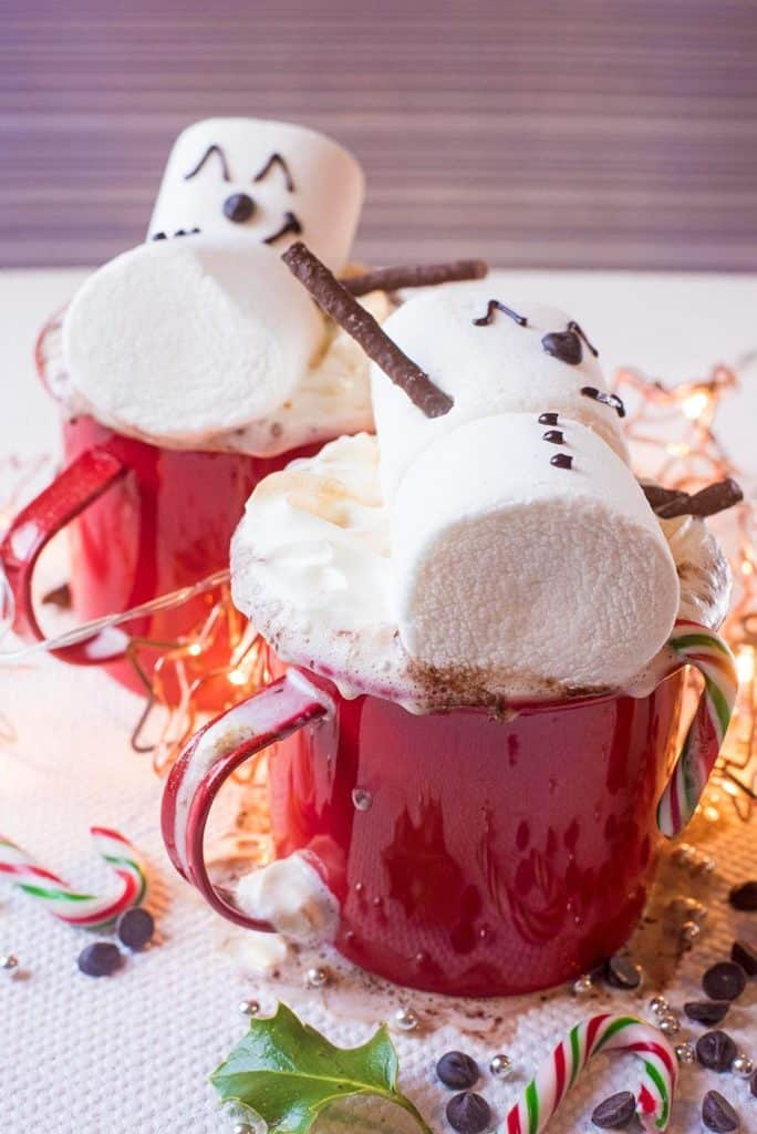 Snowman Hot Chocolate