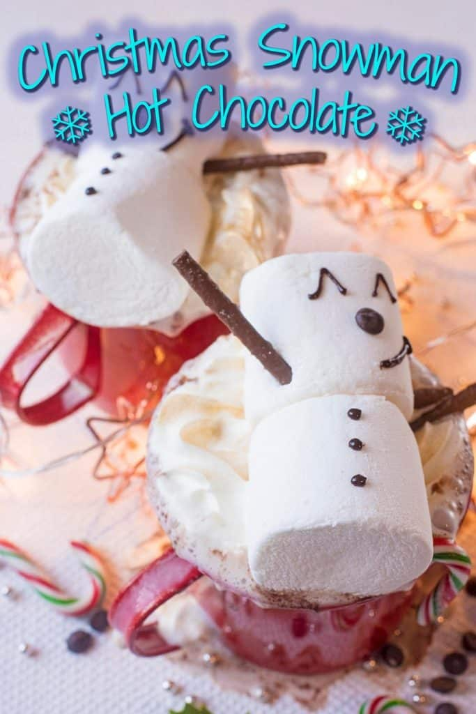 Snowman Hot Chocolate title picture