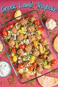 Greek Lamb Traybake title picture