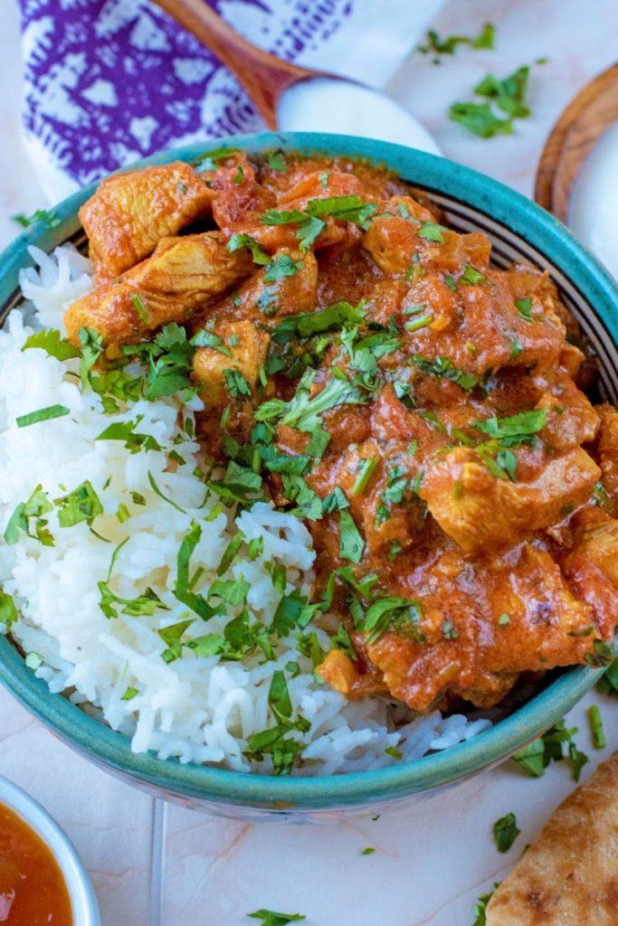 Tomato And Garlic Chicken Curry Recipe Hungry Healthy Happy