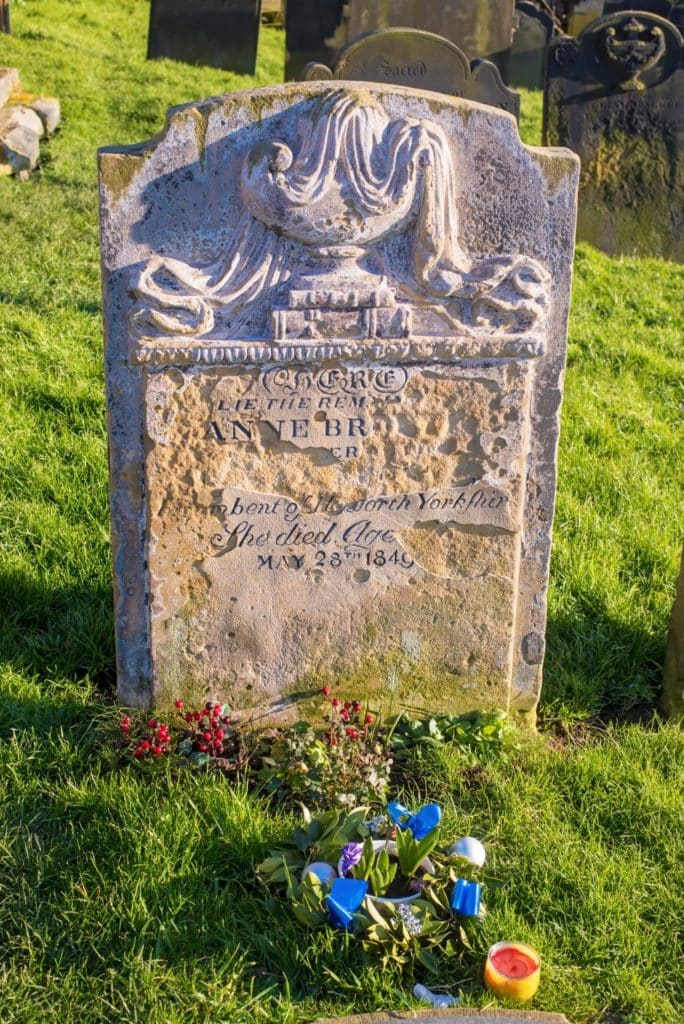 Gravestone of Anne Bronte