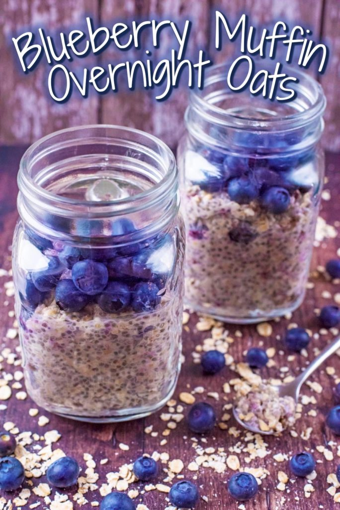 Blueberry Muffin Overnight Oats title picture