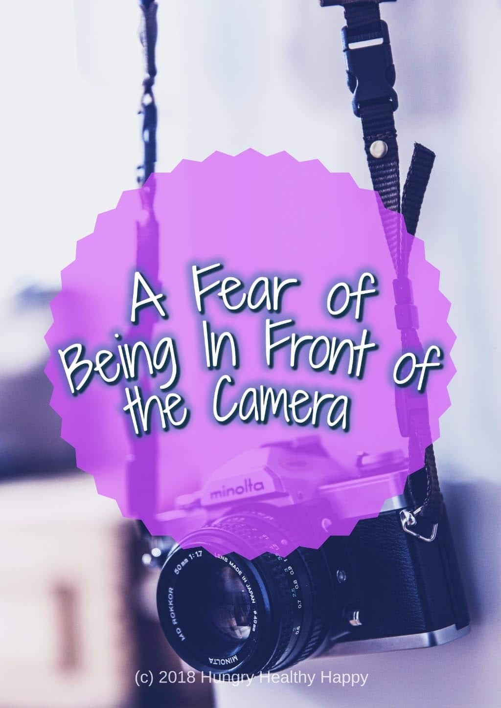 Fear of being in front of the camera title picture