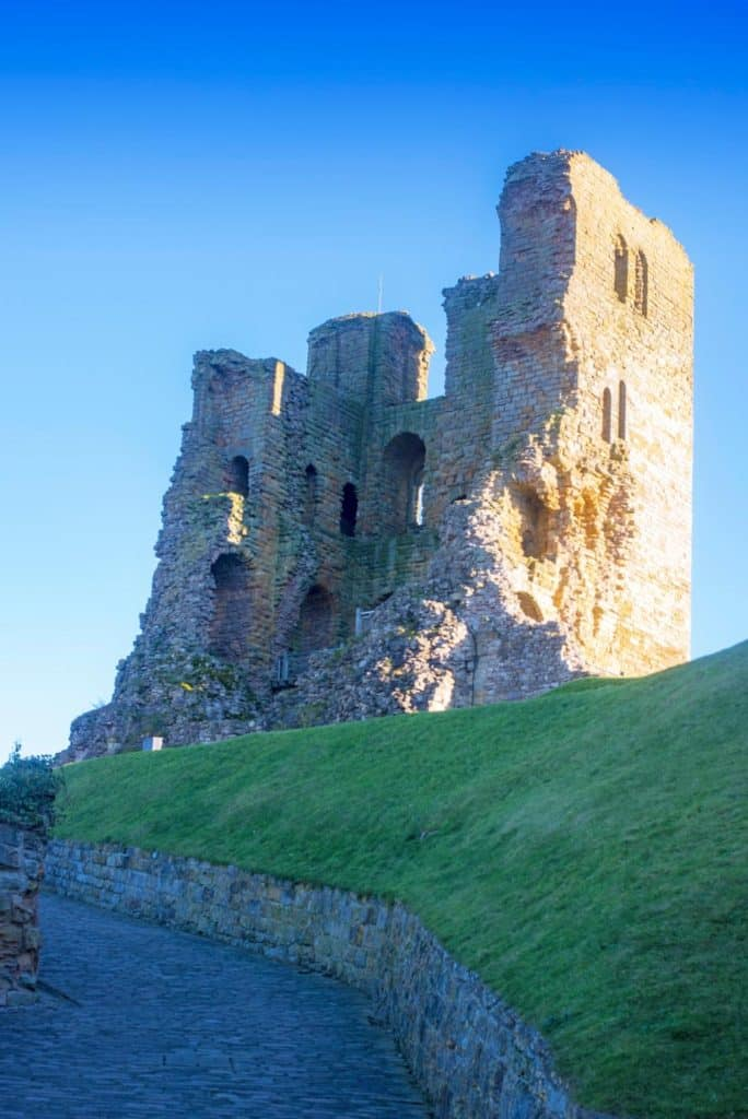 Scarborough Castle from below