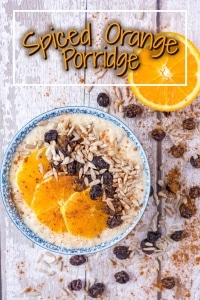 Spiced Orange Porridge title picture
