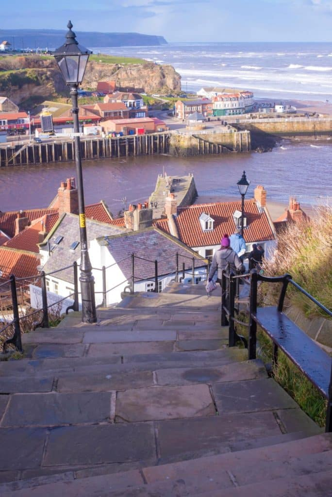199 Steps in Whitby