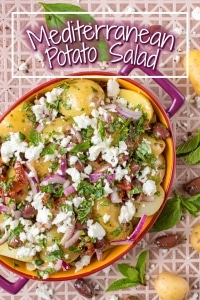 Mediterranean Potato Salad title picture