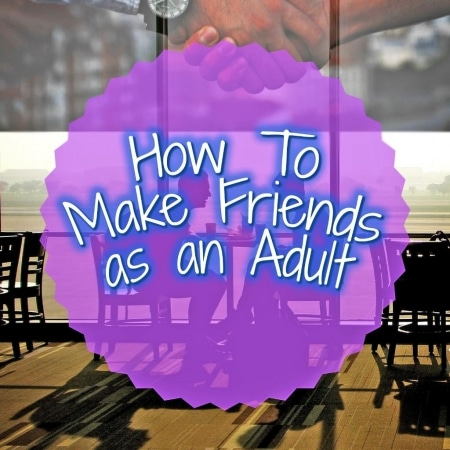 How to make Friends as an Adult title picture