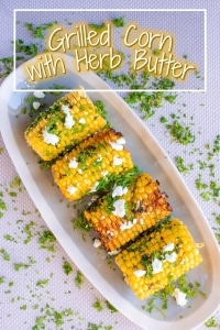 Grilled Corn with Herb Butter title picture