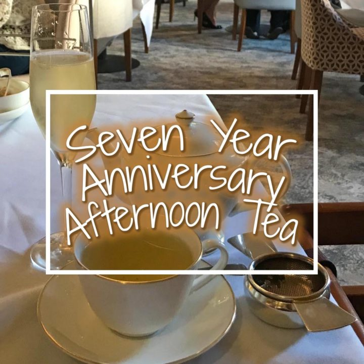 Seven Year Anniversary Afternoon Tea featured image
