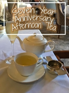 Seven Year Anniversary Afternoon Tea title picture