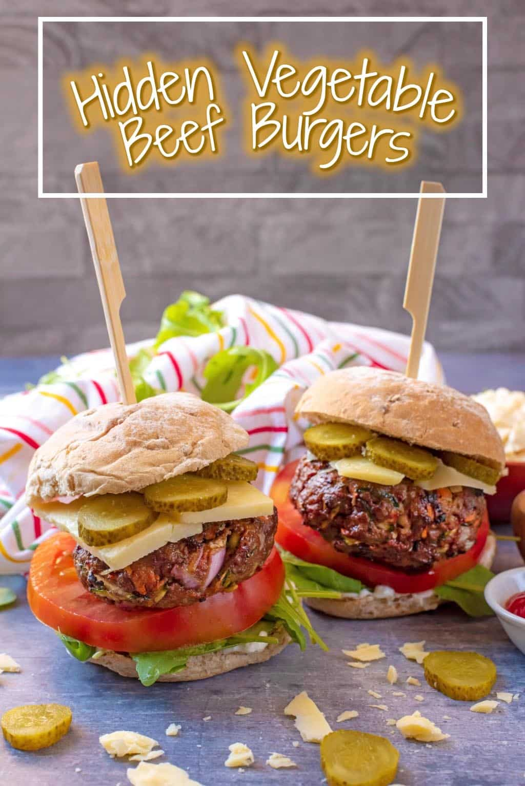 Wouldn't it be great to enjoy a homemade beef burger, with all the trimmings, and know you are eating some vegetables too? Well, now you can with these Hidden Vegetable Beef Burgers. They are great for fussy eaters that would rather eat burgers than vegetables, because this recipe is both, and they will never know!