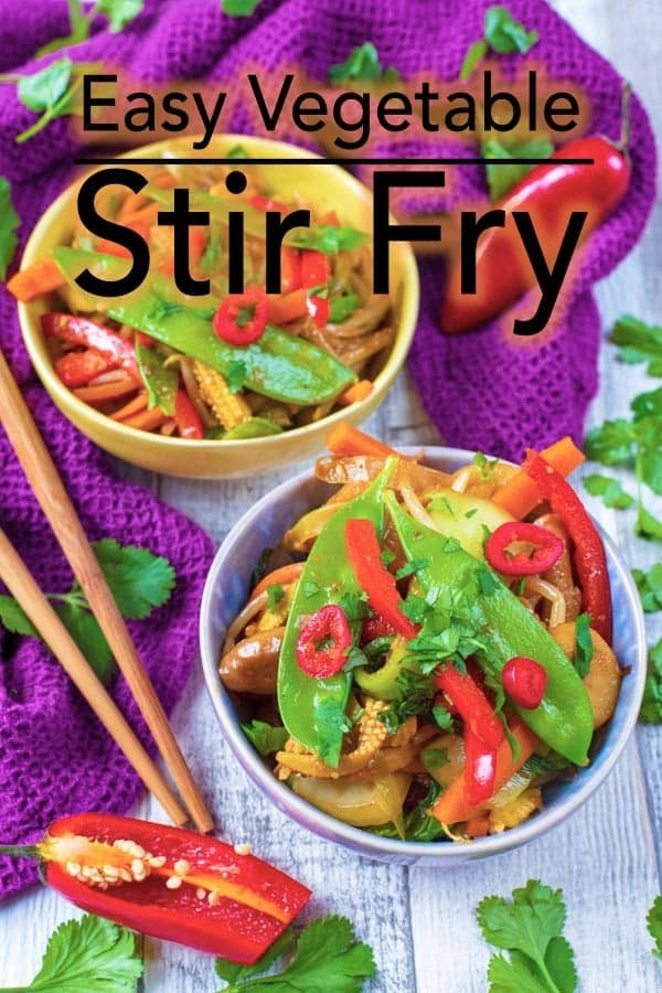 When you are looking for a quick and nutrient dense lunch, an easy vegetable stir fry can be a delicious and colourful option. #chinese #stirfry #takeaway #takeout
