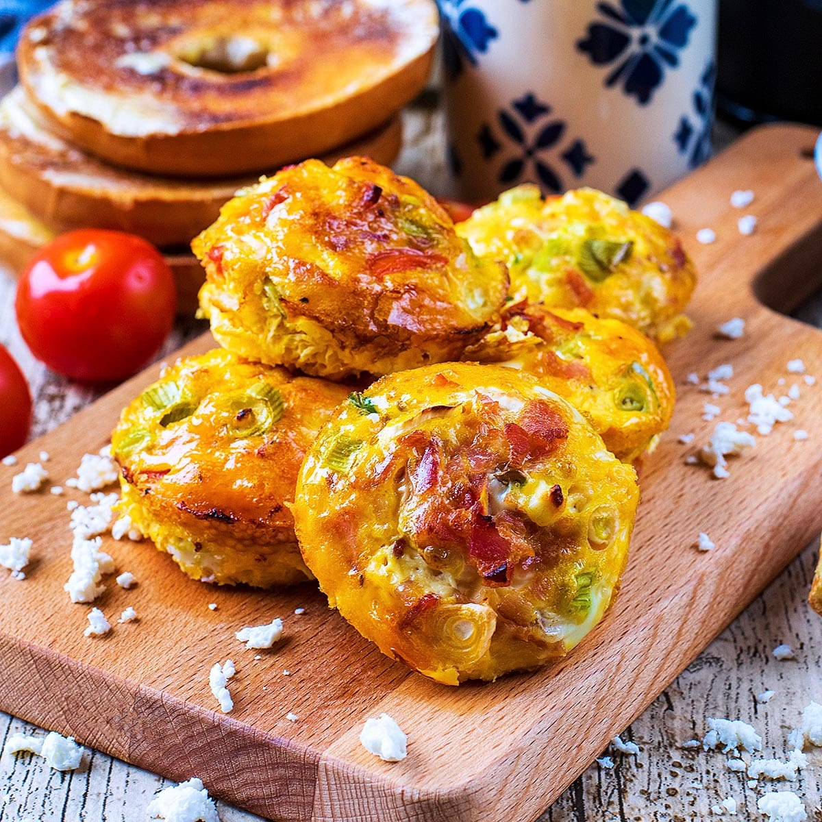 Breakfast Egg Muffins Hungry Healthy Happy
