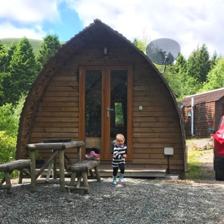 Wigwam Holidays Strathfillan Running Water Deluxe cabin