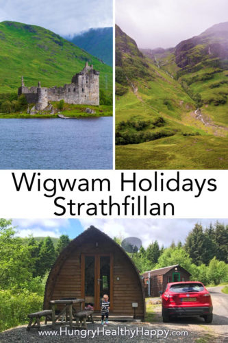 Wigwam Holidays Strathfillan collage