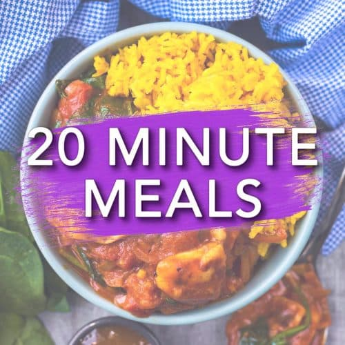 20 Minute Recipes