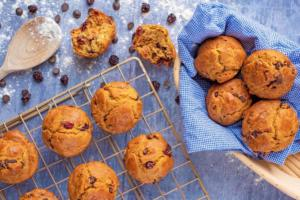Cranberry Orange Christmas Muffins