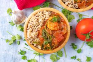Prawn, Tomato and Coconut Curry
